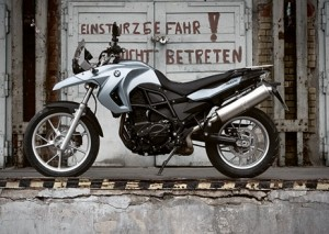 The BMW 2009 F 650 GS